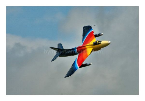 Hawker Hunter - multi-coloured