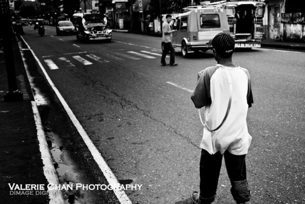 Street life in the Philippines.