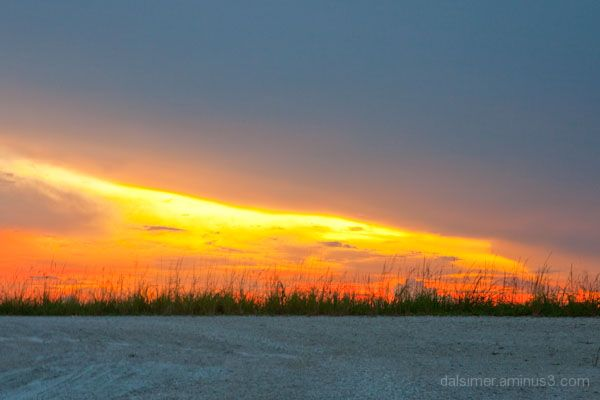 florida coral springs sunset everglades