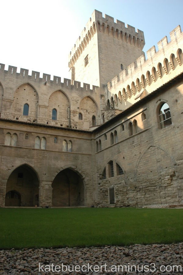 Inside the Pope's Palace
