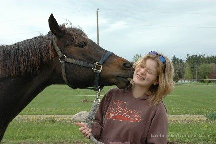 Friend with horse 2