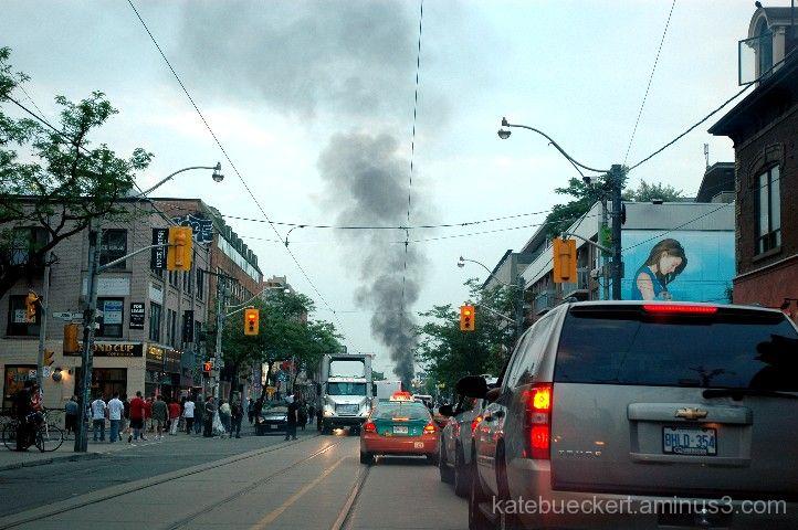 G20 - Cruiser on fire