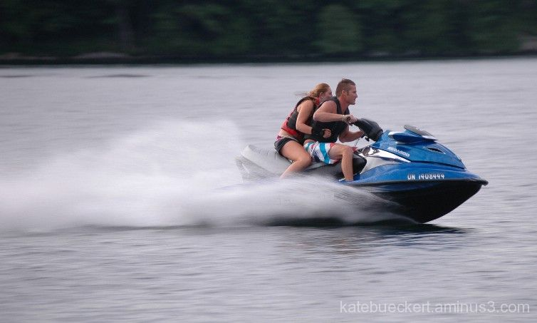 At the cottage - SeaDoo