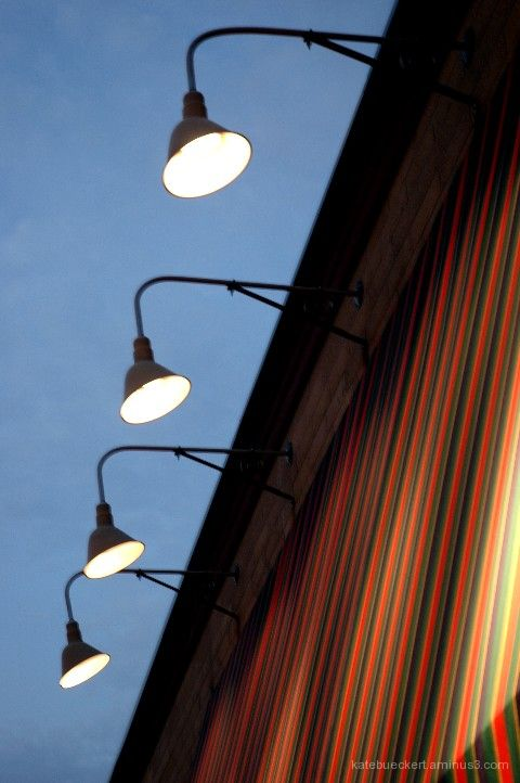 Lights at East Side Mario's