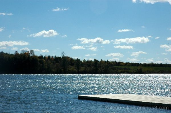 A fall day in October - the dock