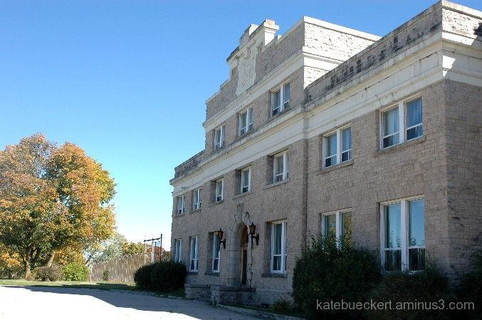 Guelph Reformatory - the front