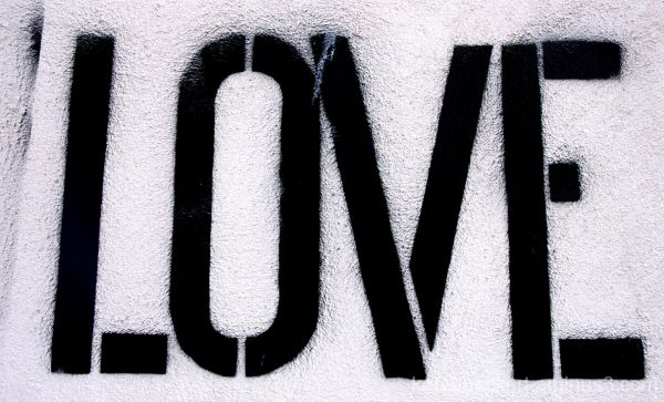 Downtown graffiti - Love