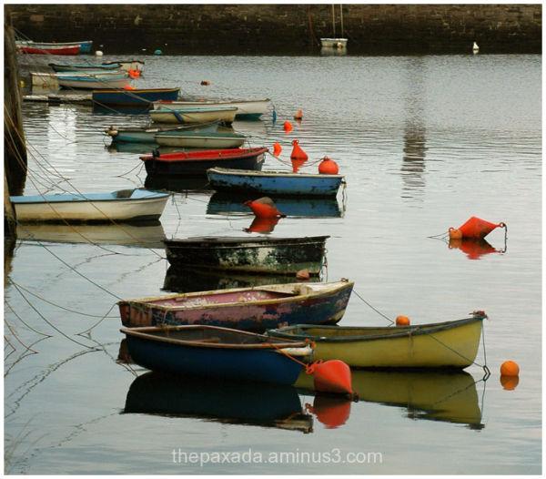 Barcas y reflejos