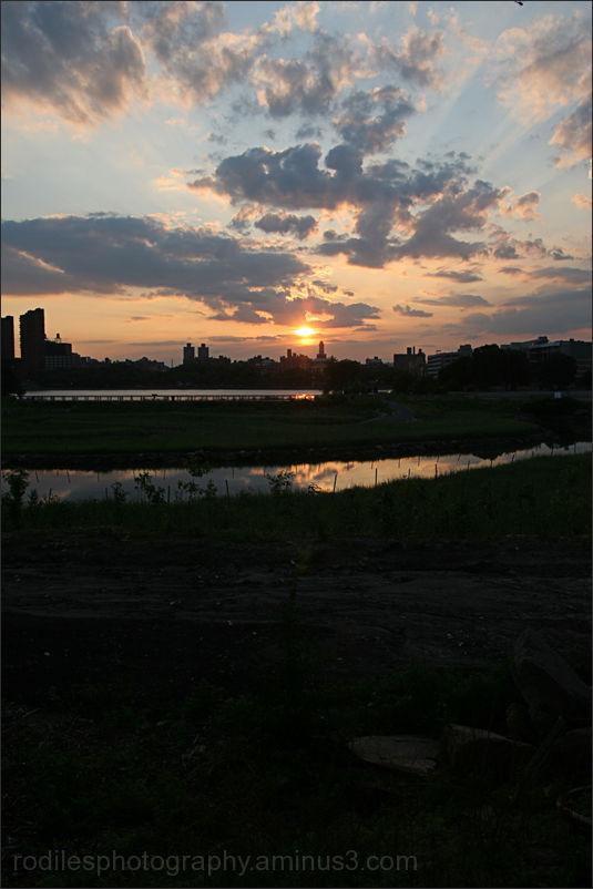 Sundown in Manhattan