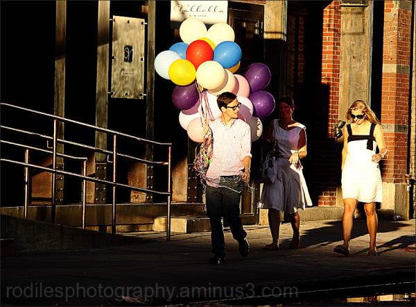 Follow the balloons