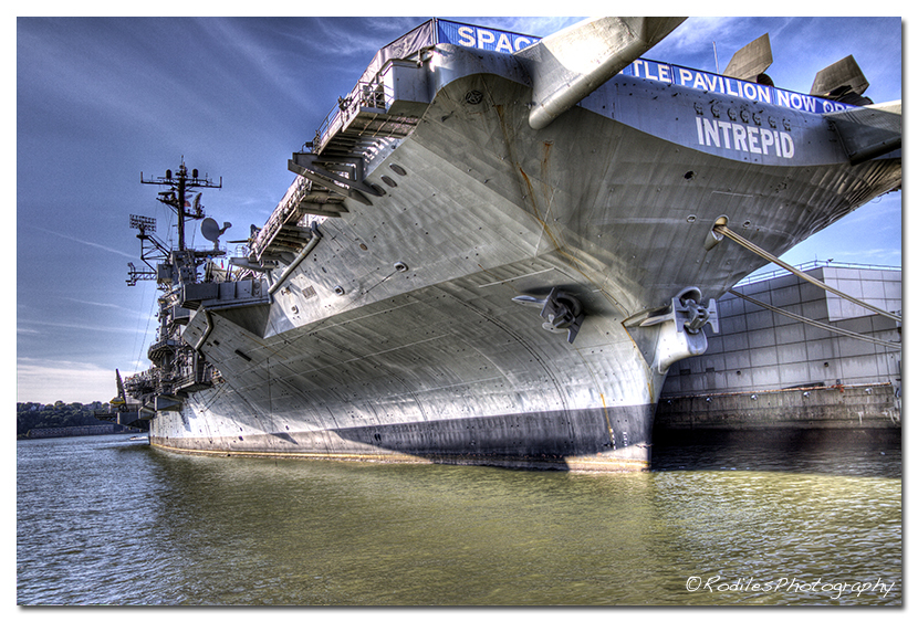 The Intrepid  Space Museum, NYC.