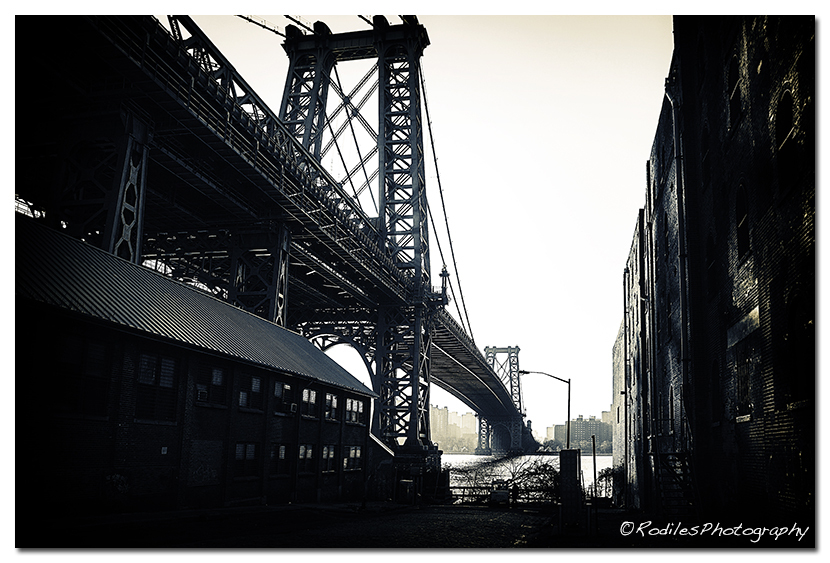 The Williamsburg Bridge, NY
