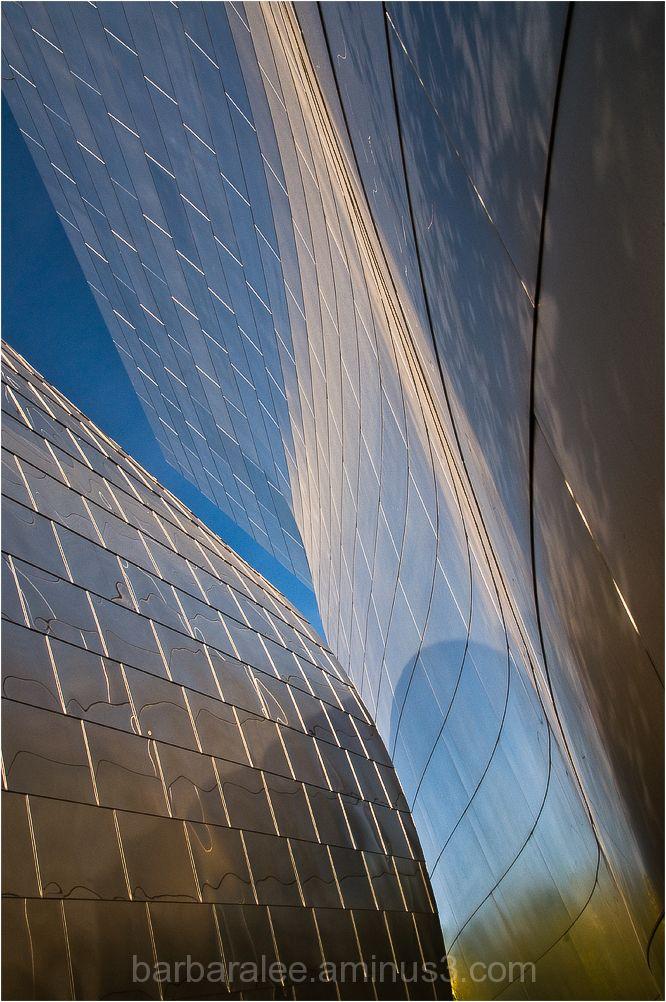 Detail at Walt Disney Concert Hall in Los Angeles