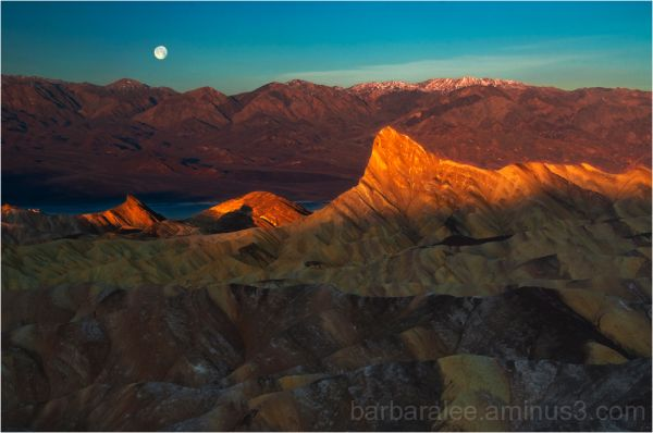 First Light, Manly Beacon - Death Valley National