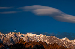 Lenticular Cloud Over Mt. Whitney