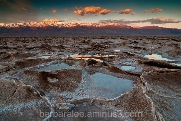 Badwater Sunrise - Death Valley National Park