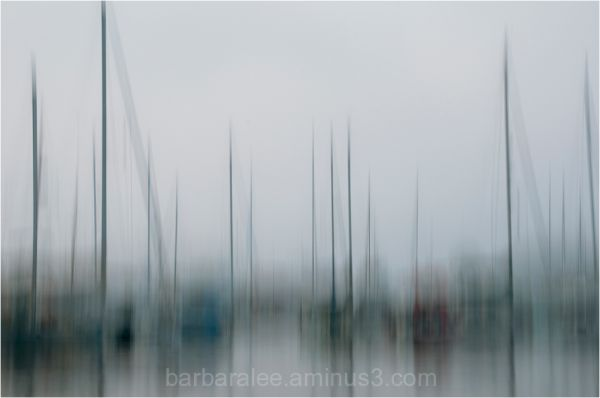 Camden Harbor Abstract