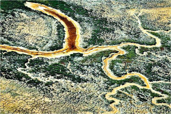 Aerial Abstract - San Francisco Bay