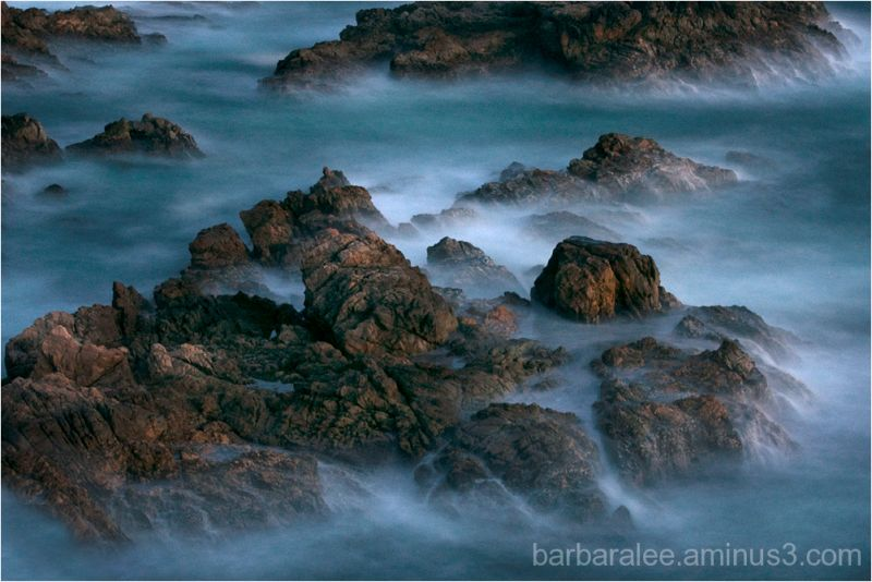 Garrapata Sea Swirls