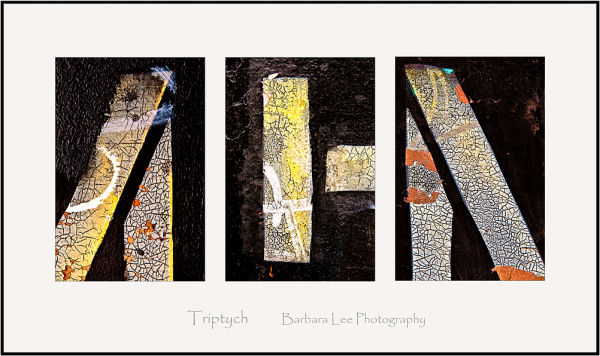 Triptych Abstract