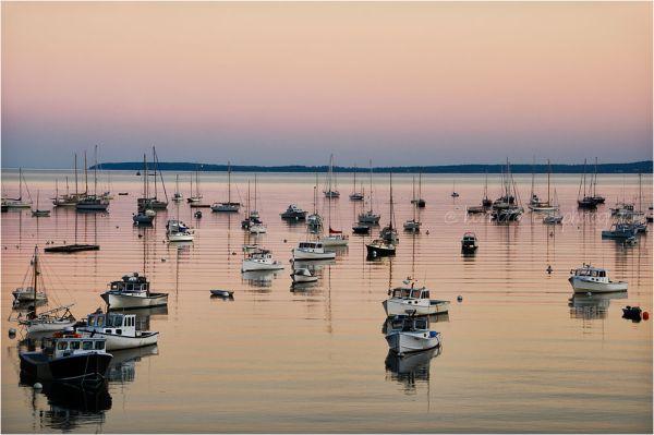 Quiet Rockport Sunset
