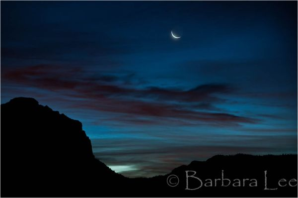 Zion Moonset