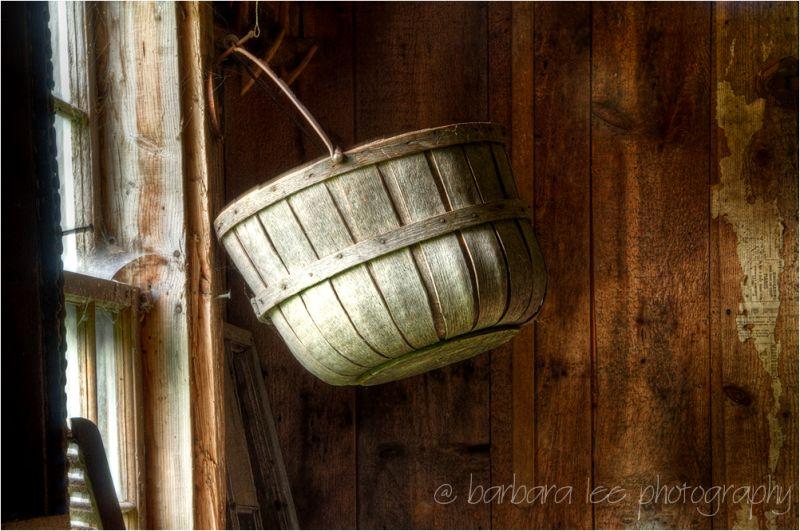 Basket in the Olsen House Cushing Maine