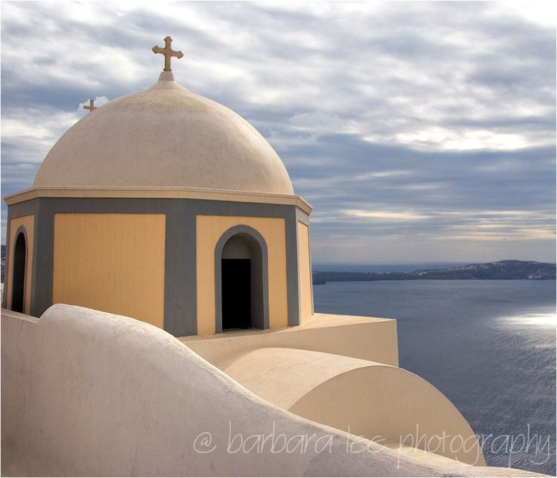 Greek Orthodox Church in Santorini and Caldera