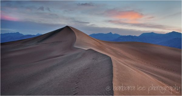Mesquite Dunes Before Dawn, Death Valley