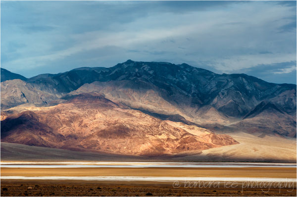 Badwater and the Panamints at Sunrise, Death Valle