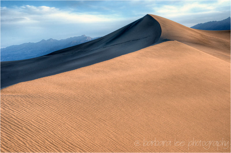 Mesquite Dunes, Death Valley - at Dawn