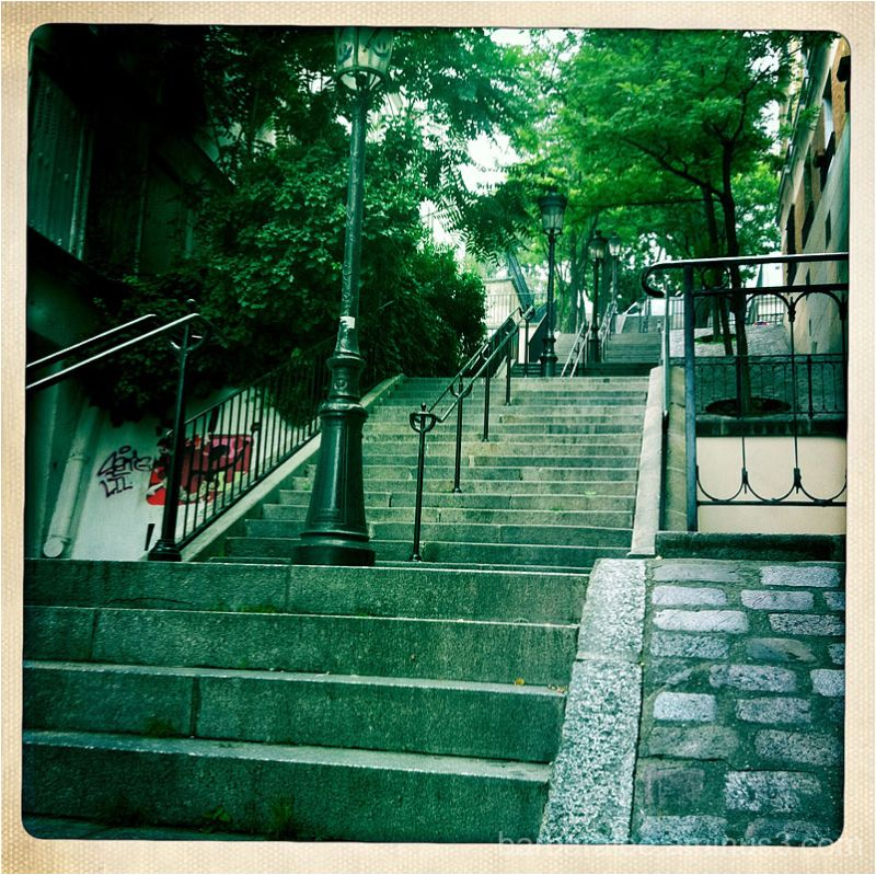 The Steps of Montremarte
