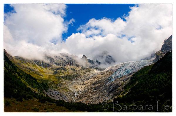Glacier du Trent, Switzerland