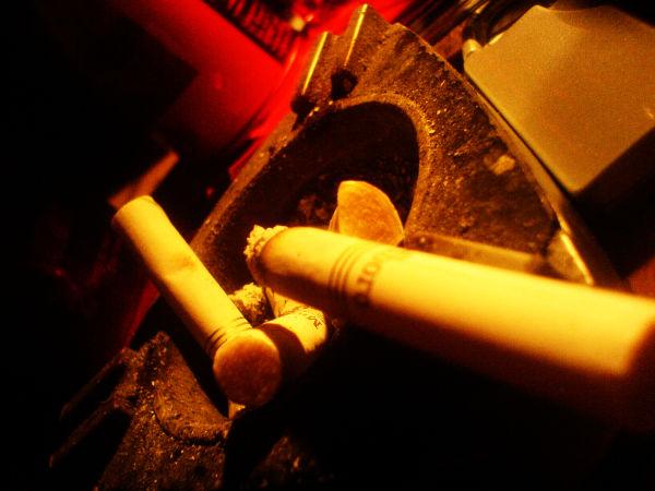 A cigarette.