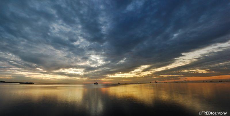The Manila Bay.