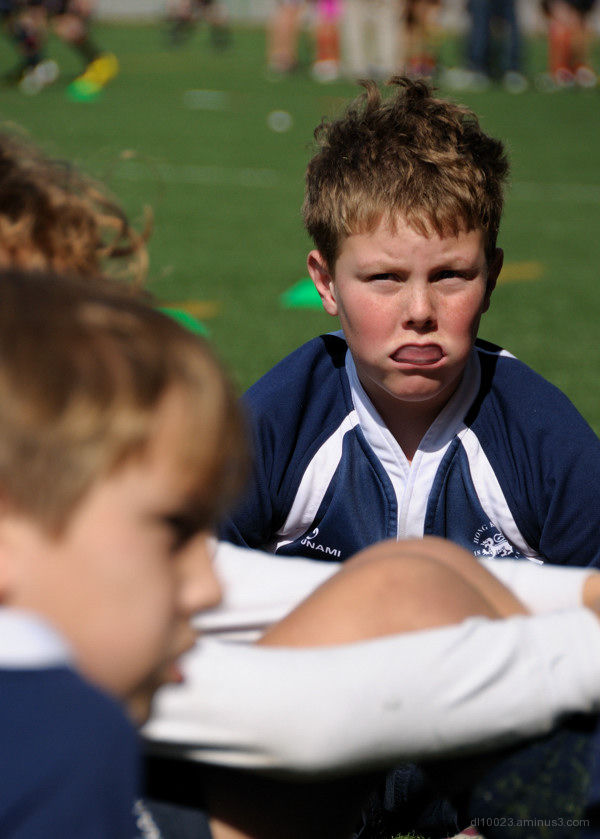 Mini Rugby Team Player