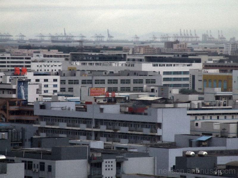 Guangzhou city view