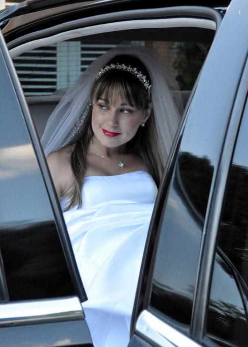 Bride in Frame