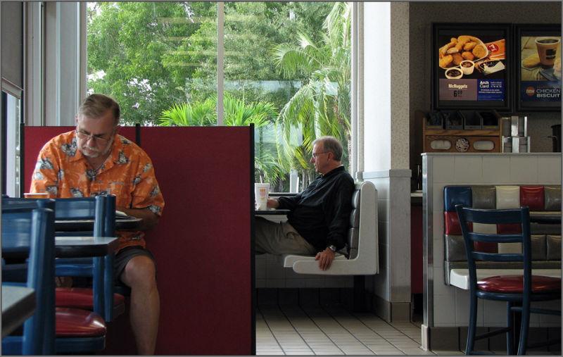 breakfast lunch McDonald's restaurant Florida