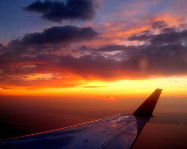 Visión desde un pequeño avión