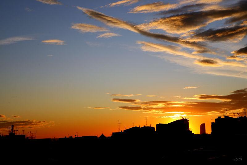 El sol també surt a la ciutat!