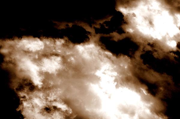 Tot retratant núvols 8