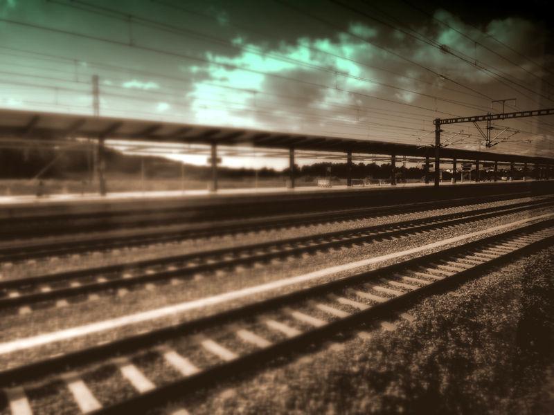 * El viatge en tren 1
