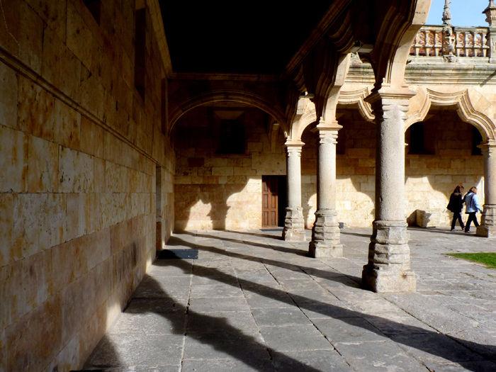 * Patio de escuelas. Universidad de Salamanca