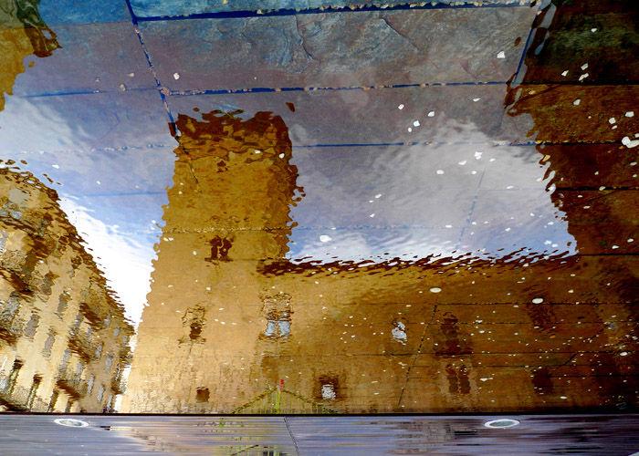 * Reflejo de la Torre del aire. Salamanca