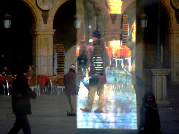 * Reflejo en la Plaza Mayor