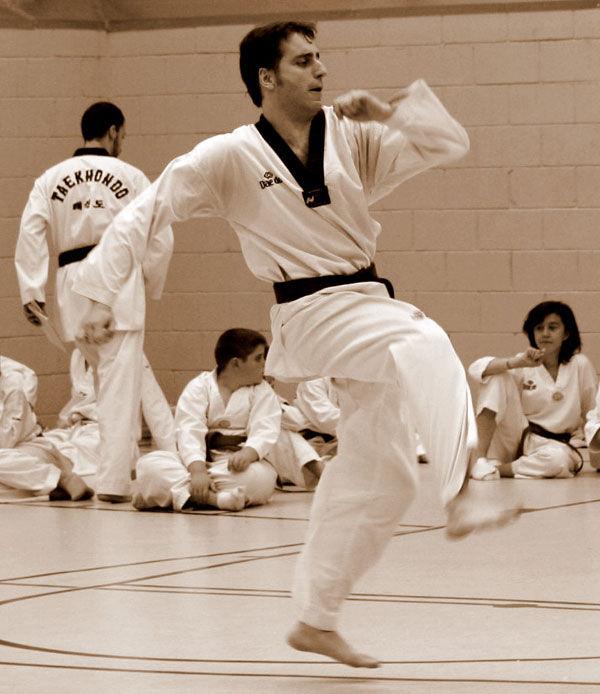 * Exhibició de Taekwondo 1