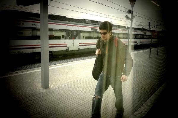 * A l'estació... cap a Barcelona
