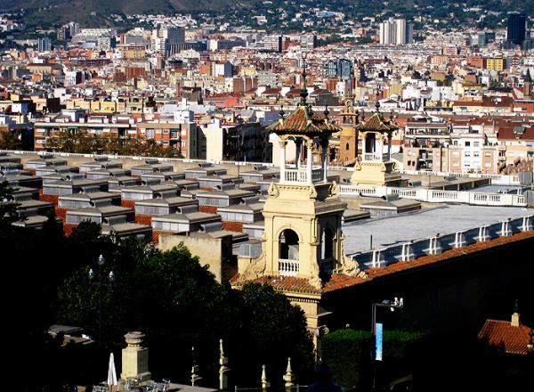 * La muntanya de Montjuïc 1