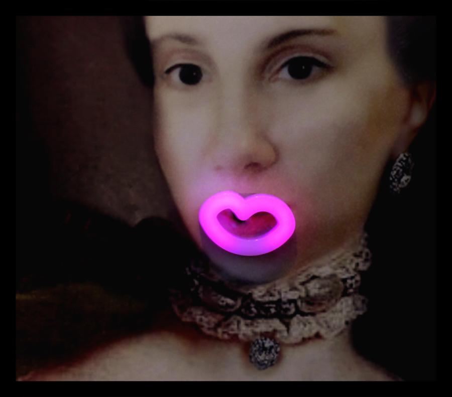 * Una boca petonera